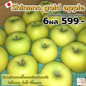 Shinano Gold Apple 6 ผล