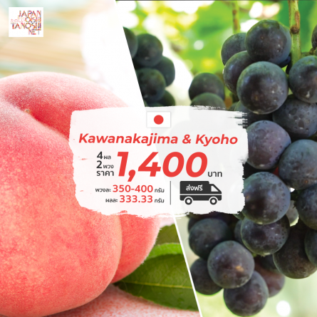 kawanakajima peach + kyoho